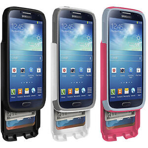 buy popular c1b76 39170 Details about Otterbox Commuter Series Protective Wallet Case for Galaxy  S4, 100% Authentic.