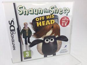 nintendo ds game shaun the sheep off his head game manual and case rh ebay co uk Nintendo 4Ds Nintendo DSi Green