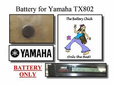 Battery for Yamaha TX802 Synthesizer - Internal Memory Replacement Battery