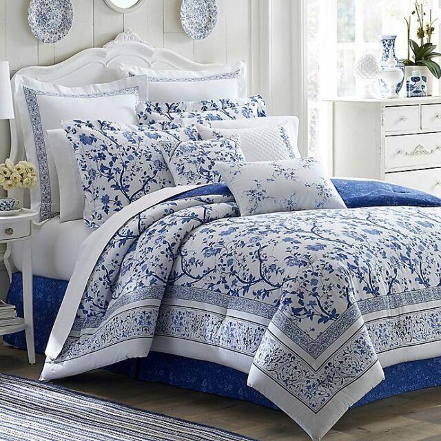 Laura Ashley Bluebirds King Size Duvet, Laura Ashley Bluebirds Bedding
