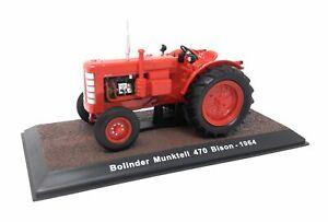 Atlas-DieCast-Metall-Modellauto-1-32-Historischer-Traktor-1964-Bolinder-Munktell