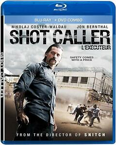 Shot Caller [Blu-ray dvd combo] NEW< FREE SHIPPING
