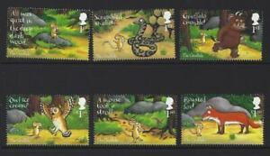 GREAT-BRITAIN-2019-THE-GRUFFALO-SET-OF-6-SINGLES-UNMOUNTED-MINT-MNH