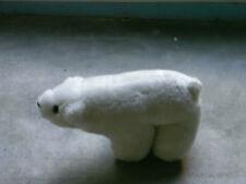 """""""Plüsch-Eisbär"""", Marke: no name, höhe etwa 13 cm, gut erhalten"""