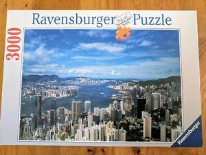 Ravensburger-Puzzle-3000-Pieces-Jigsaw-Puzzle-Hong-Kong-Skyline-N-17-0166