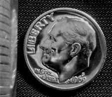 1969 S Clad Proof Roosevelt Dime With 2x2 Snap From Proof Set Combined Shipping