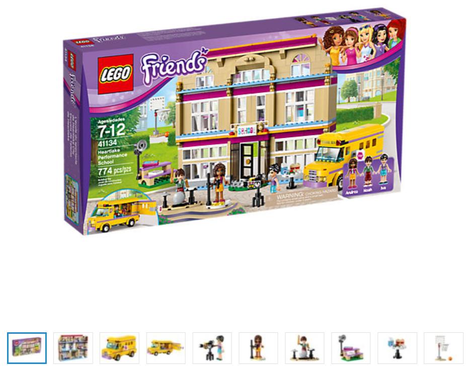 LEGO Friends Heartlake Performance School 41134 New