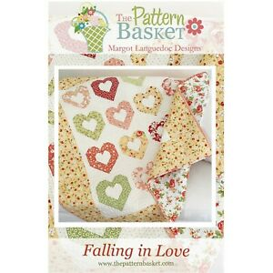 Falling in Love Quilt Pattern by The Pattern Basket