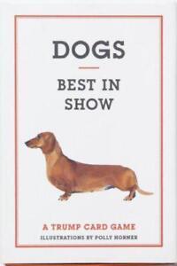 Dogs-Best-In-Show-CARTE-DA-GIOCO-di-Emma-Aguado-ring-bound-LIBRO-9781856699