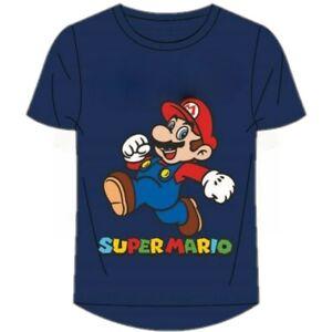 Boys Kids Super Mario Short Sleeve 100% Cotton Tee T Shirt Top age 3-12years N