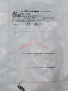 1PC New IFM   IGT201 IGB3012-APKG M V4A US-104-DPO free shipping