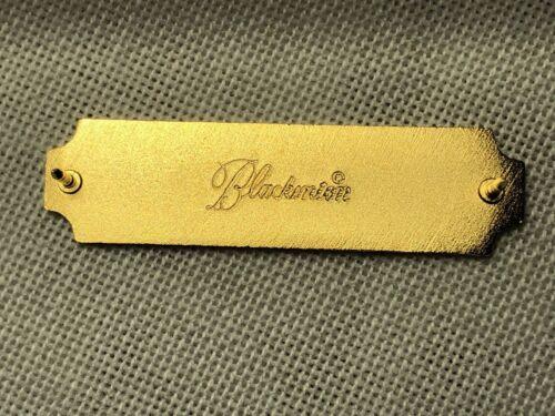 SHARPSHOOTER PISTOL QUAL BAR AWARD PIN BLACKINTON USA GOLD BLACK BULLSEYE NEW