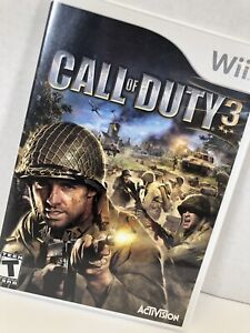 Call Of Duty 3 Nintendo Wii Game Video Game Rated Teen Cod 3 Combat War Fighting 47875816619 Ebay