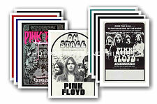 Pink Floyd  - 10 promotional posters - collectable postcard set # 2