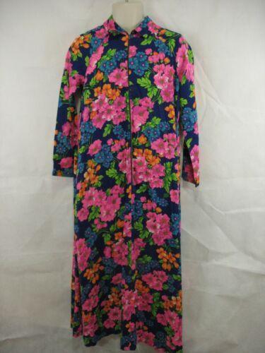Loll Ease Neon Floral Long Sleeve Maxi Dress Half