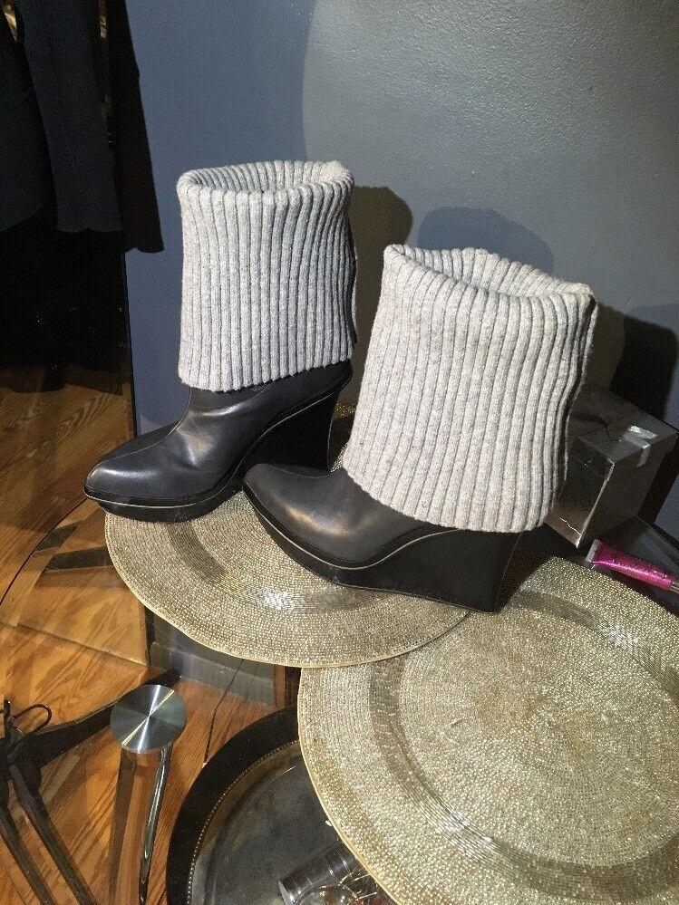 Alice + Olivia para Payless para mujer Parque Suéter cuña de plataforma botas