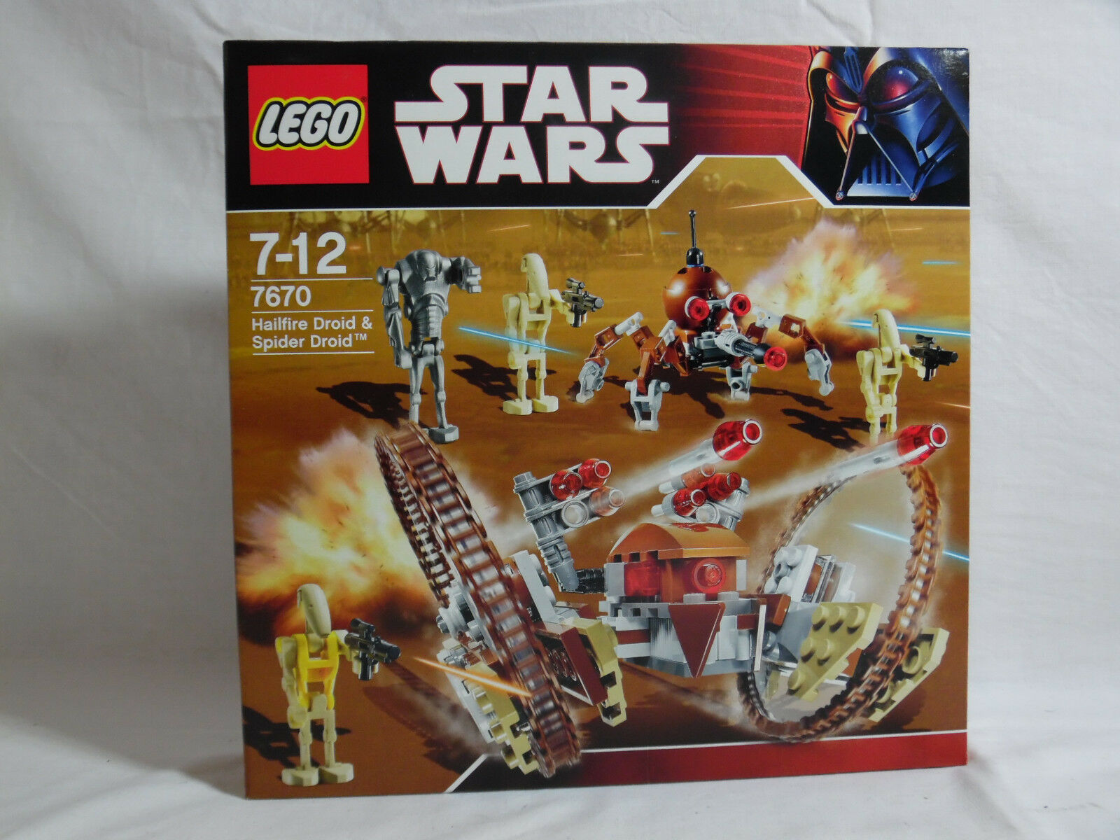 LEGO Star Wars / Hailfire Droid & Spider Droid / 7670 / Neu und OVP