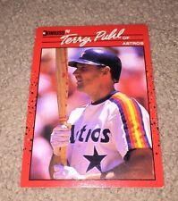 1990 (ASTROS) Donruss #354 Terry Puhl