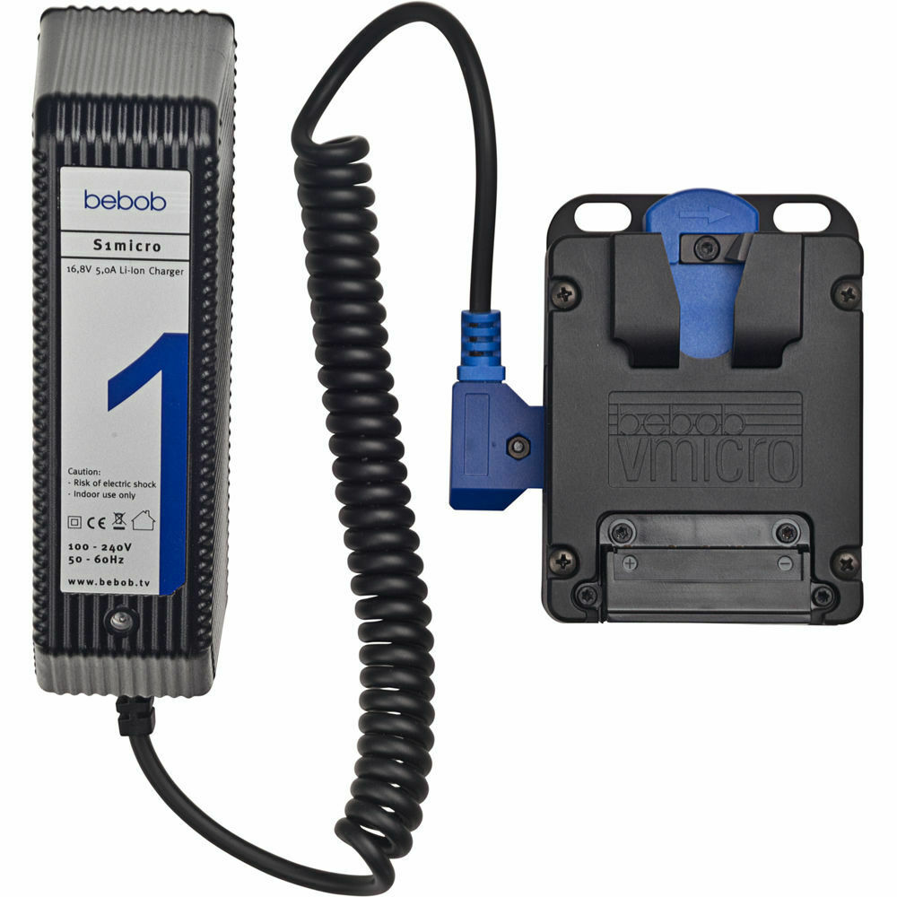 bebob VS2Micro 2-Channel V-Mount Simultaneous VMicro Quick Battery Charger