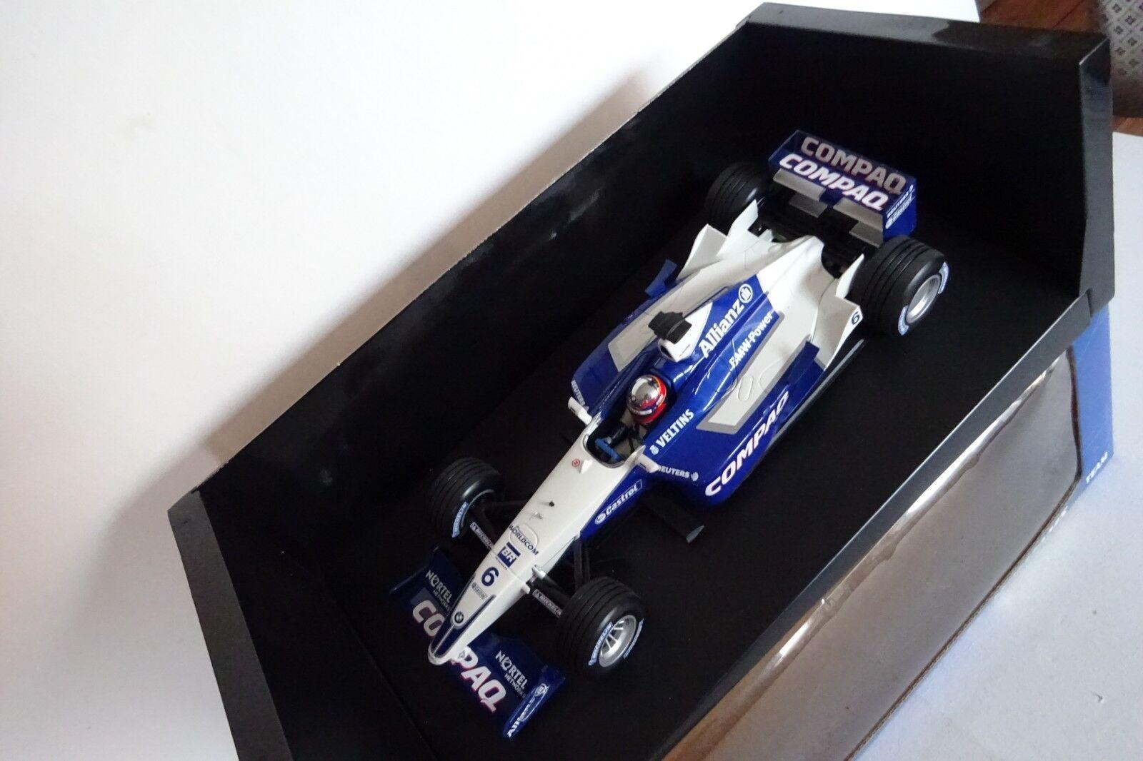 1 18 Minichamps Williams F1 BMW FW23 J.P. MonJuguetea 038134 NEW