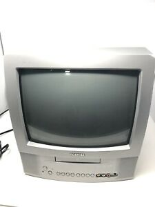 Toshiba MD13N3 13 Inch TV and DVD/CD Player Combo w/Remote TESTED WORKS