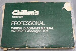 CHILTON'S IMPORT WIRING DIAGRAMS MANUAL 1976 - 78 CARS & LIGHT TRUCKS | eBayeBay