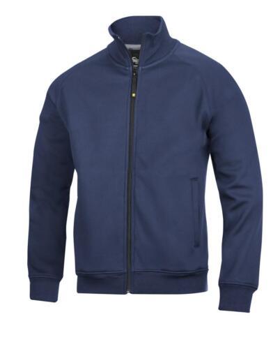Zip Sweatshirt Work Full Steel Snickers 2821 Socks Free Jacket Grey EvqBqI