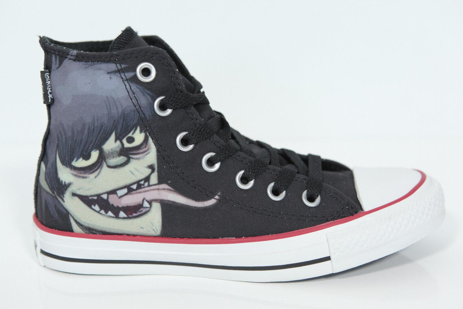 Neu All Star Gorillaz Converse Chucks Hi 132319c Gorillaz Star schwarz Sneaker UK 3 Gr.35 d21f3e