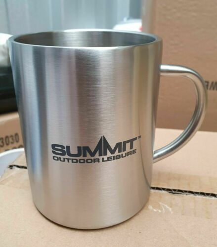 Nouveau sammit Camping acier inoxydable 450 ml Tasse