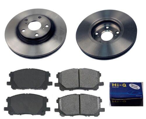 Front Ceramic Brake Pad Set /& Rotor Kit for 2006 Toyota Highlander BASE-LIMITED