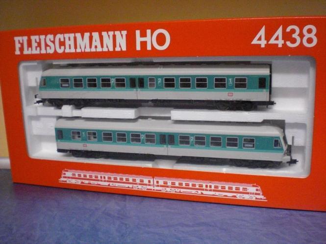 Fleischmann TRIEBZUG Diesel della DB, allestimento interno 614
