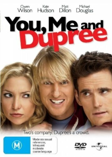 1 of 1 - You, Me And Dupree--DVD VERY GOOD CONDITION FREE POSTAGE AUS WIDE REGION 4