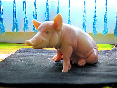 Ehrlichkeit Schleich Schwein Sitzend 90er Jahre