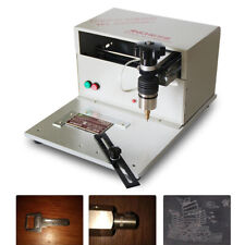 Electric Metal Marking Engraving Machine For Equipment Valves Signs Marking 110v