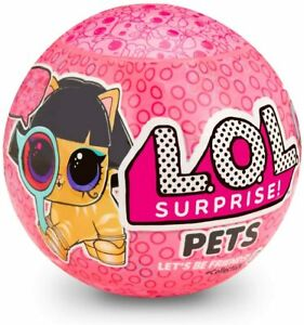LOL-Surprise-PETS-EYE-SPY-Doll-Animal-Ball-Series-4-Wave-2-L-O-L-Authentic