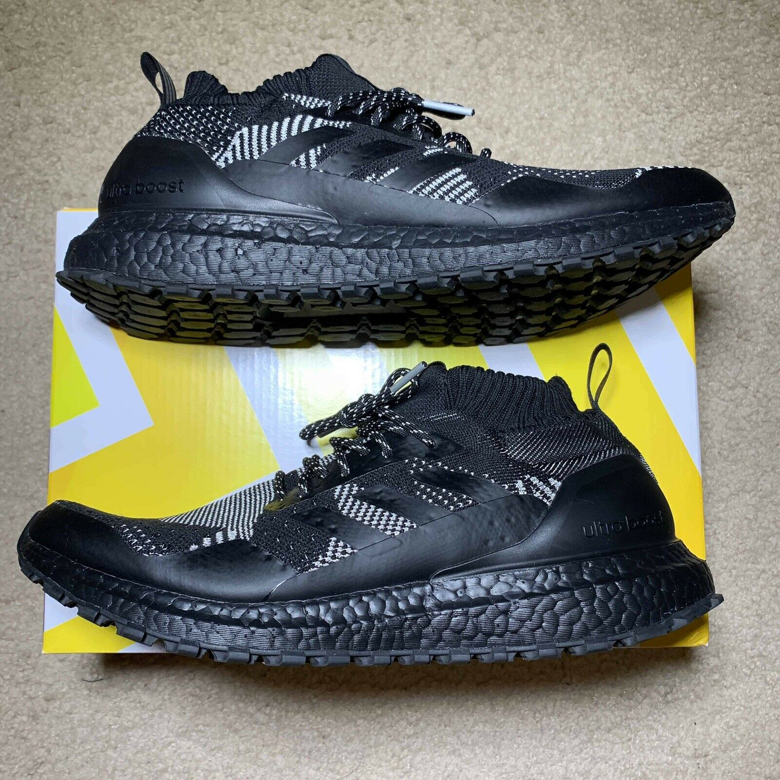 Pre-Owned Adidas Ultra Boost Mid Kith x Nonnative 3M Size 10