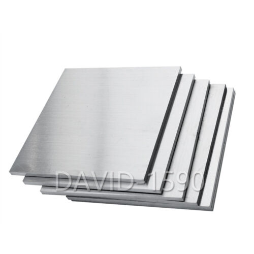 1pcs 2mm x 100mm x 100mm Wire Drawing 304 Stainless Steel Sheet Plate