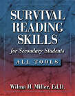Survival Reading Skills for Secondary Students by Wilma H. Miller (Paperback, 2003)