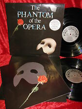 1987 UK PODV9 2LP STEREO EXC+ THE PHANTOM OF THE OPERA NICE COPY