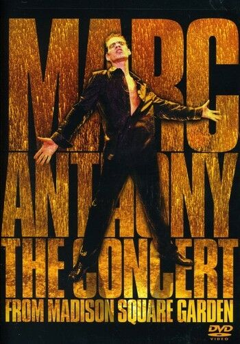 1 of 1 - Marc Anthony: The Concert From Madison Square Garden (2004, DVD NEW)