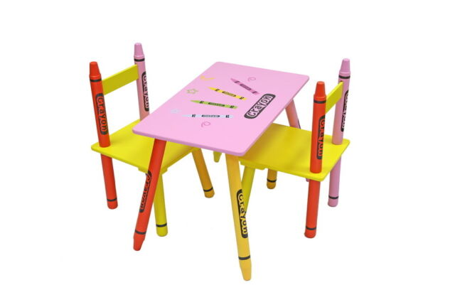 Pleasing Bebe Style Childrens Crayon Table And Chair Set Wooden Furniture 2 Kids Chairs Ocoug Best Dining Table And Chair Ideas Images Ocougorg