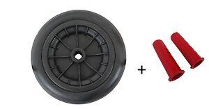 Wheelbarrow-Launching-Trolley-Wheel-SOLID-12-034-Pair-30-mm-Handle-Grips