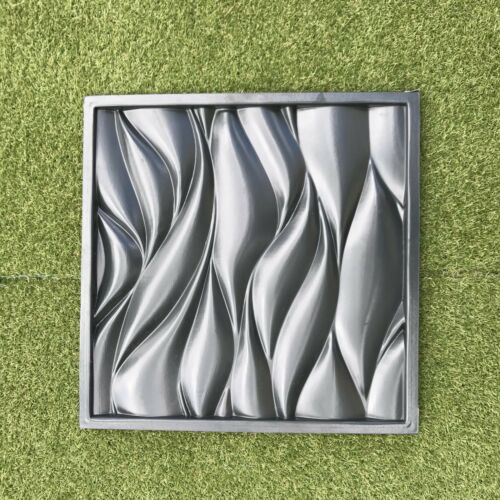 *WIND* 3D Decorative Wall Panels 1 pcs ABS Plastic mould for Plaster Gypsum