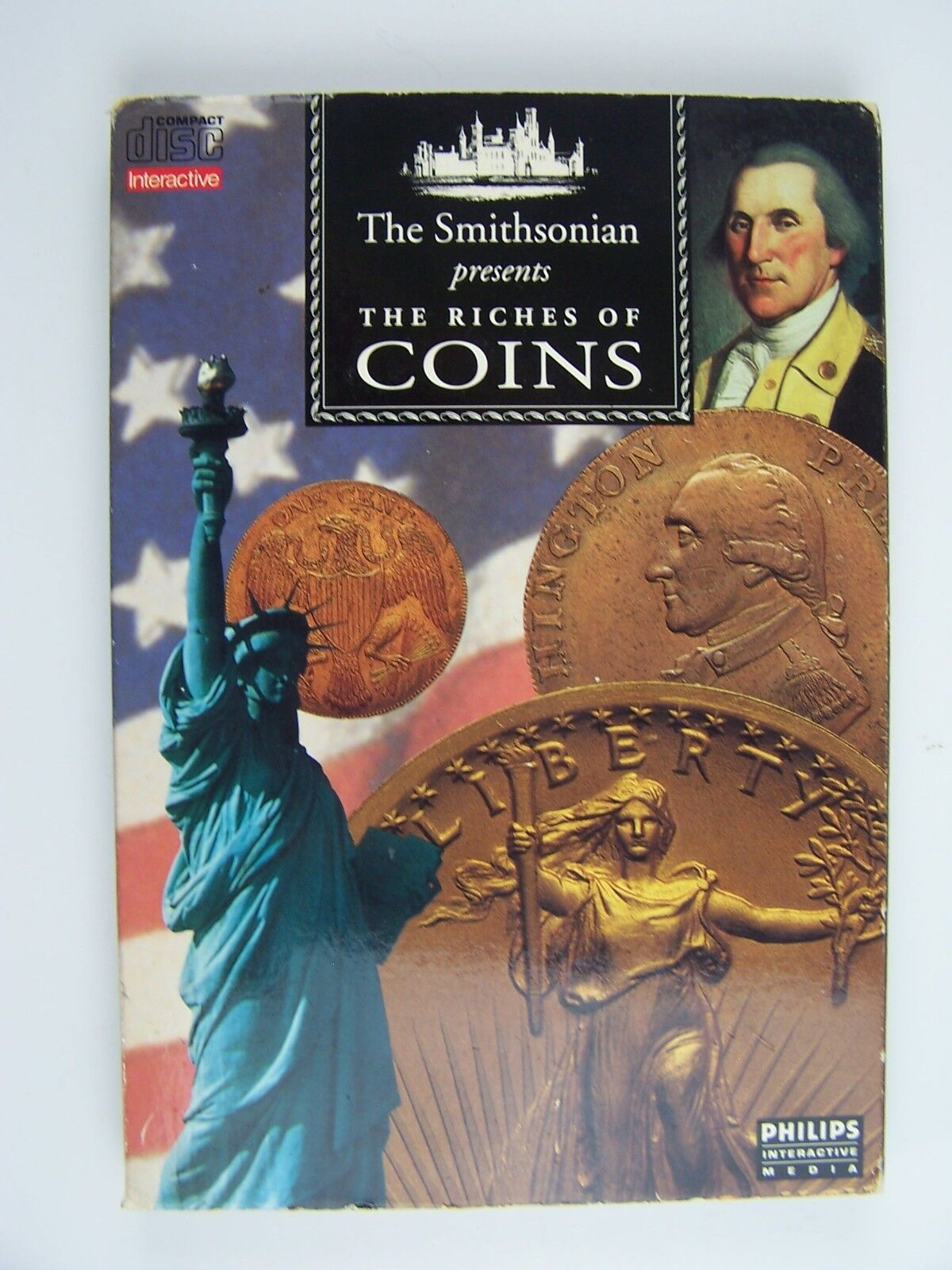 The Smithsonian Presents Riches Of Coins CD-i Philips L