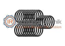3 St. O-Ring Nullring Rundring 112,0 x 1,5 mm NBR 70 Shore A schwarz