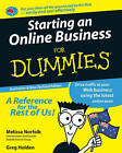 Starting an Online Business for Dummies by Melissa Norfolk, Greg Holden (Paperback, 2009)