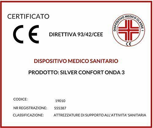 Materasso Memory H 20 20 20 cm con DISPOSITIVO MEDICO Ortopedico Doppio Lato + CUSCINI 6df584