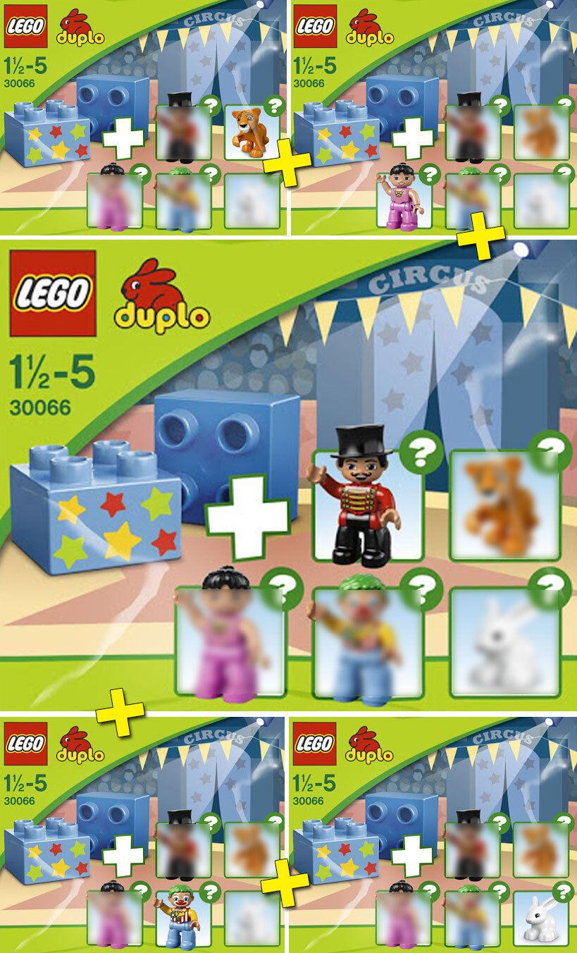 LEGO DUPLO Le Cirque   Circus - LOT 5 Sets - Collector 2013 - NEW