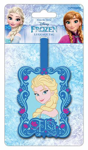 Kofferanhänger Frozen Fanartikel Elsa Luggage Tag