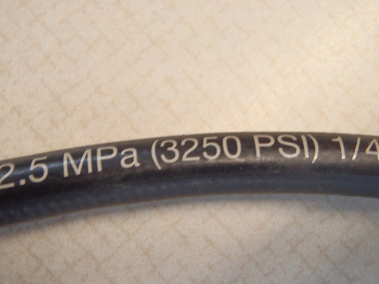 "Gates Mega 3000 Hydraulic Hose 4M3K 1//4/"" x 38/"" 3250psi"